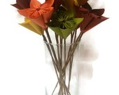 "Bouquet ""The Harvest"" / Fall / Autumn / Table Decor / Gift Origami Paper Flowers"