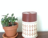 vintage70s  thermos, hot or cold, retro kitchen decor, thermos bottle, hipster kitchen