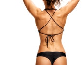 Black Sol Cheeky Scrunch Bikini Briefs
