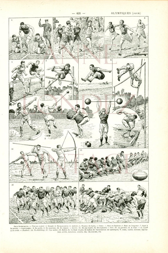 Vintage Sports Wall Art 105