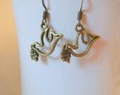 Bronze Dove Earrings