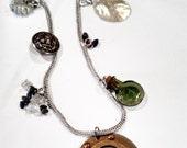 Flotsam and Jetsam. OOAK necklace.