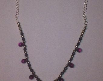 Purple Grape Necklace