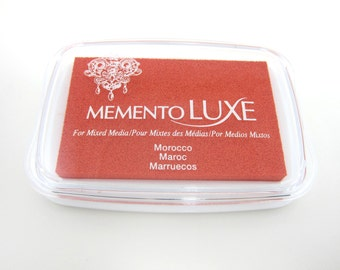 Ink Pad Memento Luxe Stamp Pad for Paper, Wood, Fabric, Etc. - Morocco