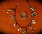 Prof. Snape Charm Bracelet - Silver Doe - HALF BLOOD PRINCE