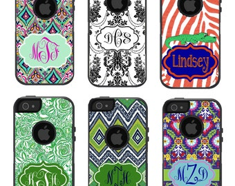 Monogrammed Otterbox iPhone case
