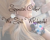 Special Wholesale Order for Joy