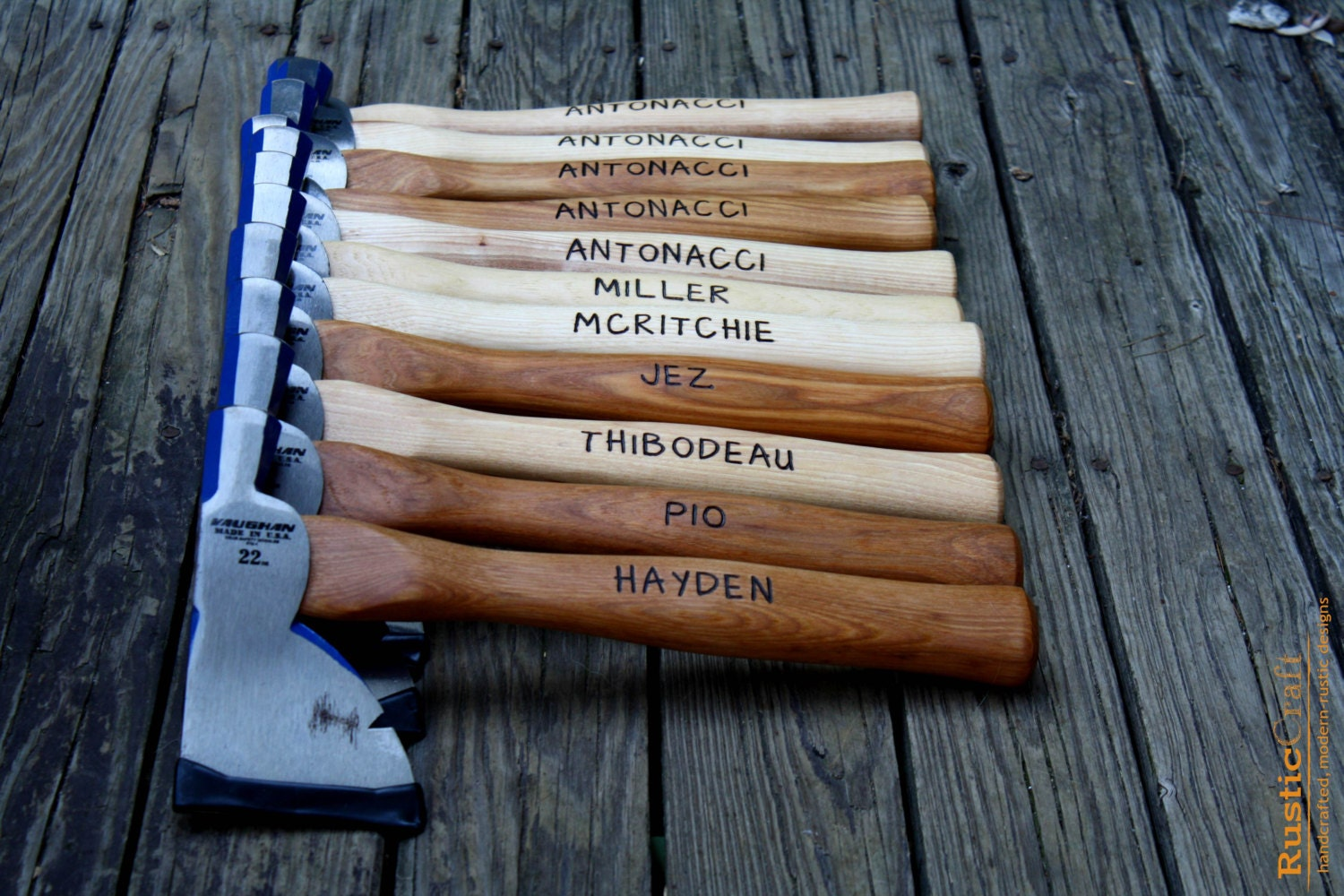 Personalized Hatchet Engraved Axe Firefighter Gift Best Man