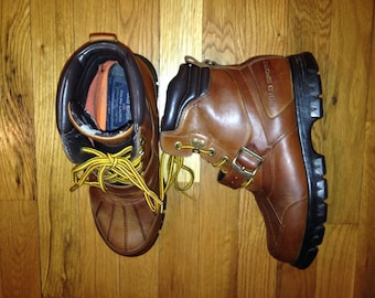 vintage polo sport ranger boots youth size 7