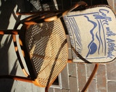 Vintage Bentwood Chair reupholstered with Byron Bay Organic Coffee Bean Bag