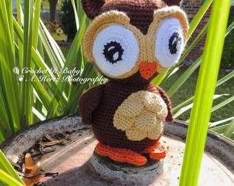 Crochet Wise Owl Amigurumi - PATTERN ONLY
