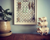Vintage picture frame jewelry display