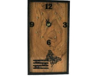 Wooden wall clock Etsy