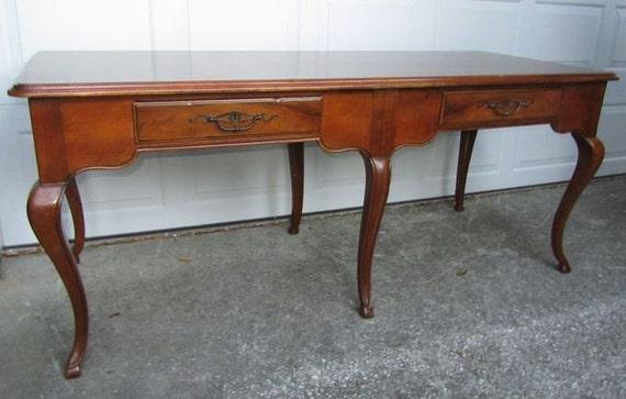 1980s Baker Furniture Desk Or Table Vintage By Onvintagefurniture