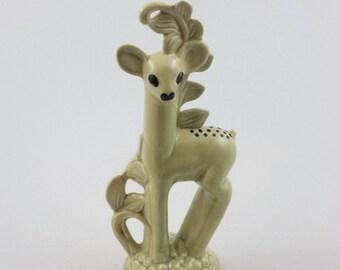 Red Wing #1126 Deer Ceramic Figurine 1942 Charles Murphy
