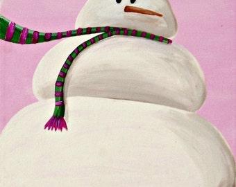 snowgirl II - fine art print