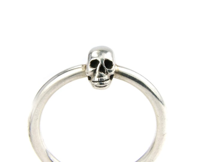 Small Sterling Silver Skull Ring - All sizes