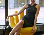 Jil Sander Backless Cocktail Summer Sundress Summer Dress Minimalist Splendor Super Chic