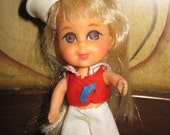 LIDDLE KIDDLE LOLA sailor doll Mattel 1960's Vintage