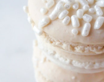 French Macaron Cookies 12 Pearl Macaroons Gift Splendid Sweet