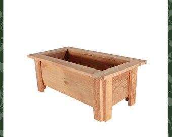 The perfect size elevated cedar wood fairy garden planter for Indoor gardening market size