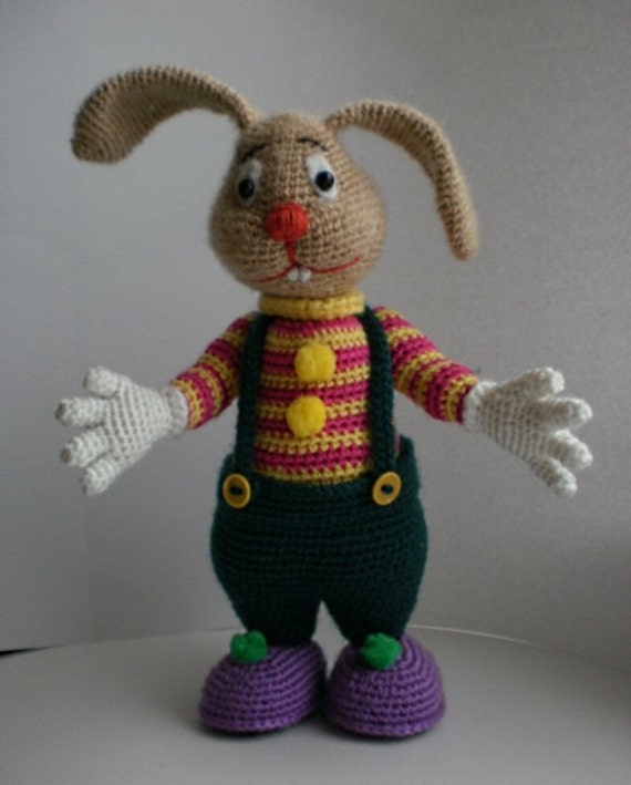 Hare Wendy. Toy crochet pattern (PDF)