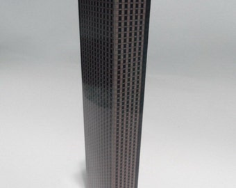 Paper Model of 62-storey Building (Files for Download)