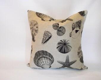 Beach Shells pillow cover