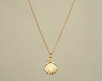 Tiny shell necklace etsy for Sell gold jewelry seattle