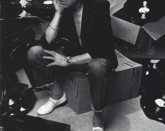 Serge Gainsbourg 4x6 Postcard
