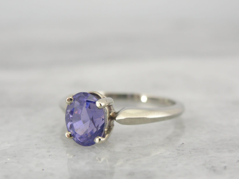 true purple sapphire engagement ring gemstone with