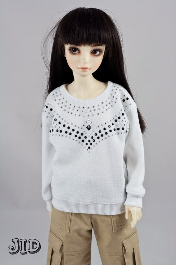 JID size Studded sweater for ball jointed dolls BJDs