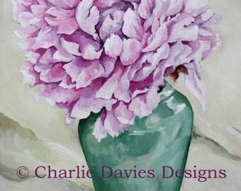 Pink Peony Giclee Print