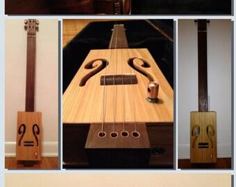 Handmade Cigar Box Guitar • Made to Order