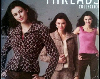 Simplicity 4500 Misses' Miss Petite Camisole, Skirt, Pants And Lined Jacket  Size (12-20)  UNCUT