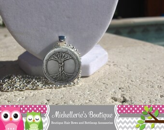 Tree of Life Necklace Tree of Life Jewelry Tree of Life Pendant Tree of Life Bracelet Glass Cabochon Bezel Pendant Gifts for her Gifts