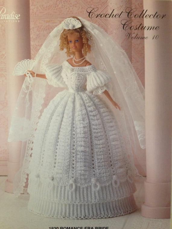 Vintage Crochet Barbie Pattern Paradise Publication 1830