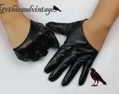 Sale Offer!  Half Gloves Black Gold White and Silver Dramatic gloves
