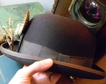 Steampunk Luminary Contraption Derby - Authentic Steampunk Hat - Cosplay Millinery