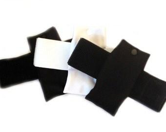 Black Insulin Pump Thigh pouch