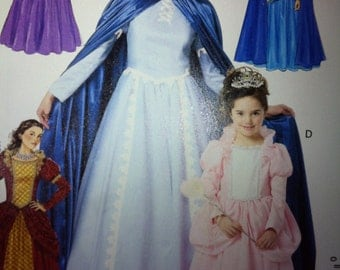 Fairy Godmother Gown with Cape, Princess Gown with Cape