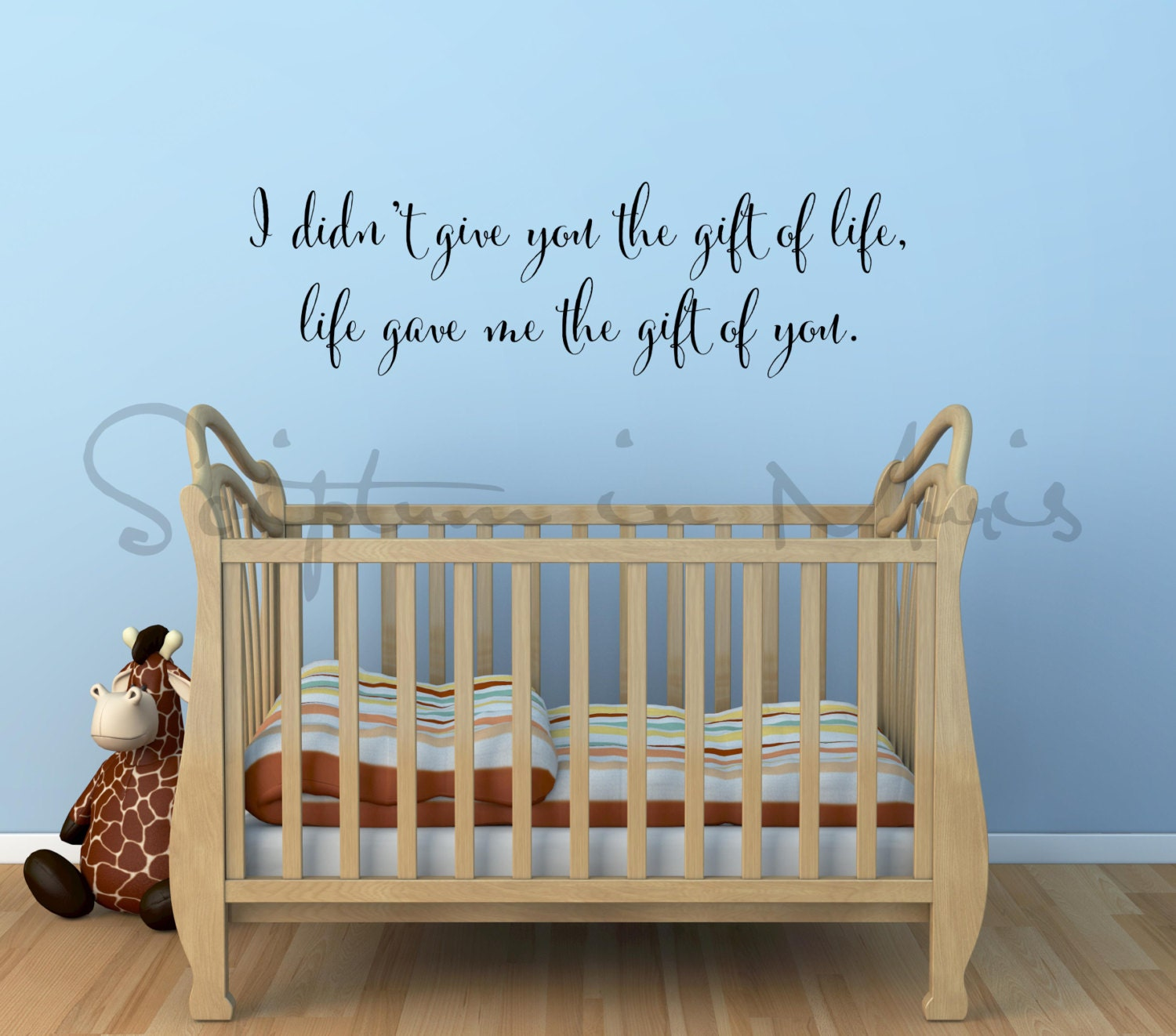 adoption quote i didn t give you the gift of life life zoom