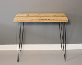Console Table, Hairpin Legs Reclaimed Wood, Reclaimed Wood Furniture