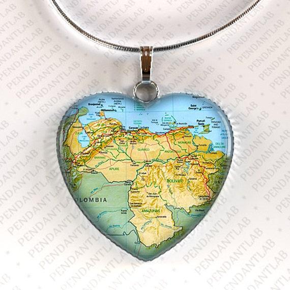 map pendant necklace map by pendantlab