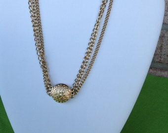 Sarah Coventry Triple Strand Necklace (Item 250M)