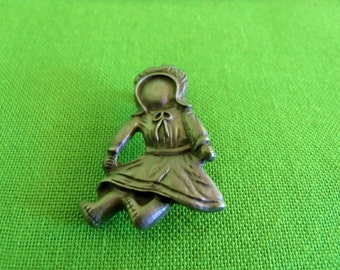 Vintage Rag Doll Brooch (Item 540)