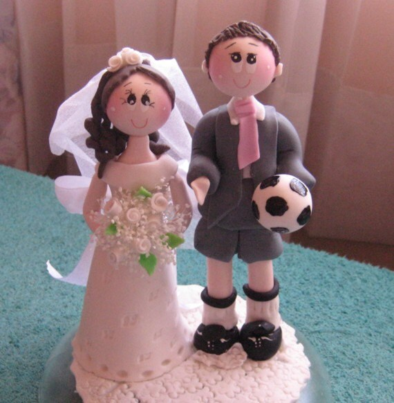 sports wedding cake toppers sports wedding cake topper wedding cake topper by cutetoppers 7624