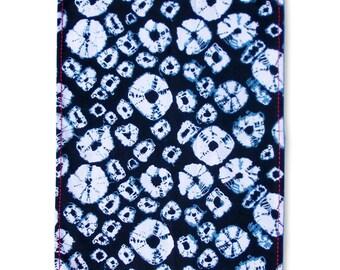 "Kitchen Towel, diamond print, shibori Tea Towel, 100% cotton, size 20""X28"""