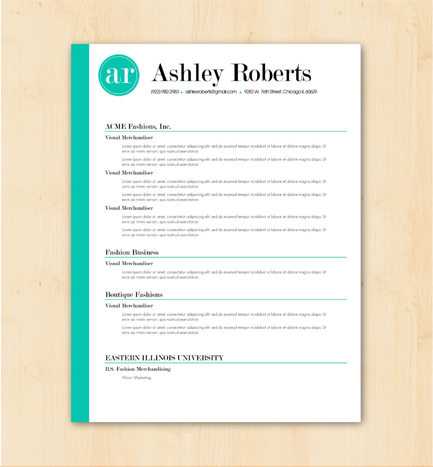 Artist Resume Templates Designed Resume Templates Cv Format Design