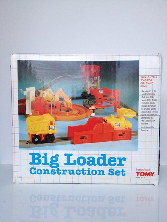 Vintage TOMY Big Loader Construction Set